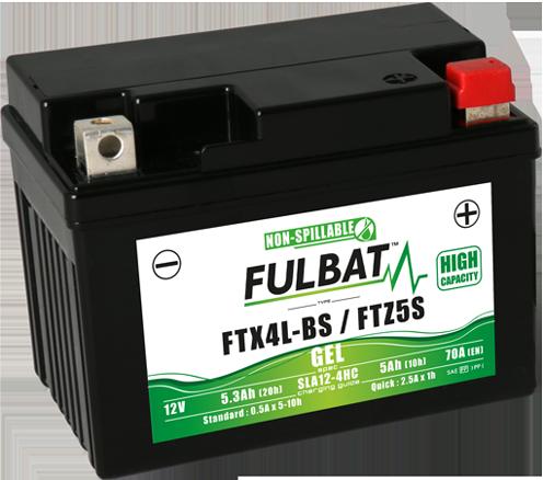 Fulbat_GEL_FTX4L-BS_FTZ5S_haute-capacité_moto_scooter