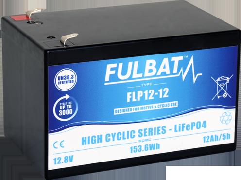 Fulbat_FLP12-12_HighCycli_LiFePO4_medical_mobility_electric-vehicle