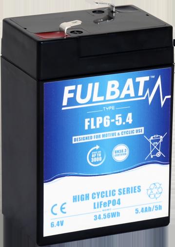 Fulbat_FLP6-5.4_HighCyclic_LiFePO4_medical_mobility