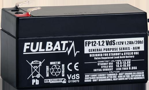 Fulbat_FP12-1.2_Vds_GeneralPurpose_AGM_alarm_security_medical