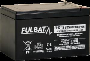 Fulbat_FP12-12_Vds_GeneralPurpose_AGM_alarm_security_UPS