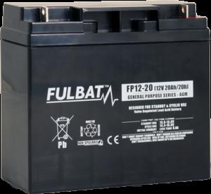 Fulbat_FP12-20_GeneralPurpose_AGM_alarm_security_UPS_medical