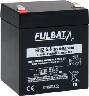 Fulbat_FP12-5.4_GeneralPurpose_AGM_UPS_alarm_security