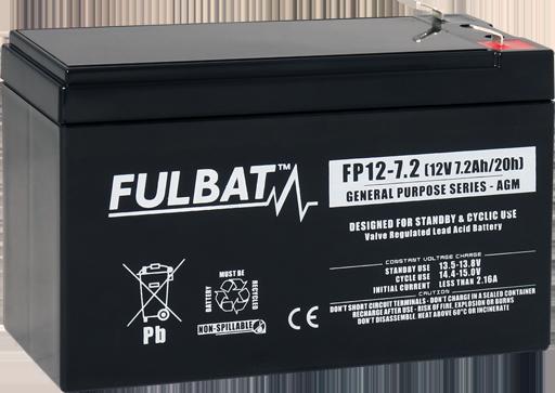 Fulbat_FP12-7.2_GeneralPurpose_AGM_alarm_security_medical